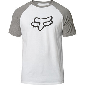 Fox Blocked Premium SS Tee Men white/grey